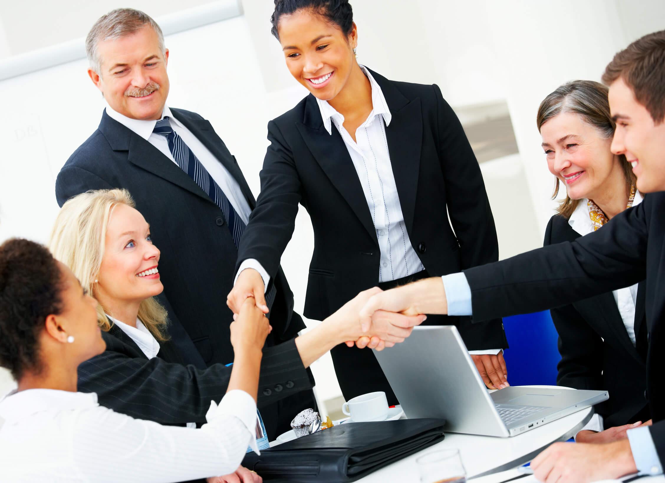 личное знакомство с клиентом