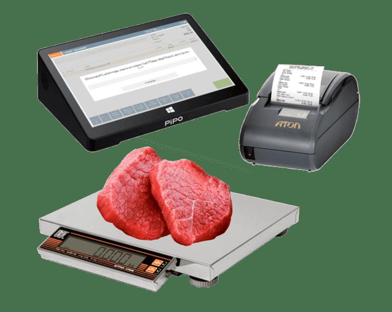 Кассовая программа для мясного магазина