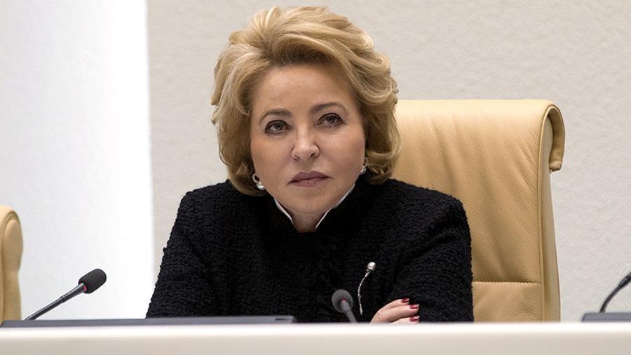 Матвиенко предложила освободить МСП и ИП от налогов: «Они и себя кормят, свои семьи кормят, и рабочие места создают»